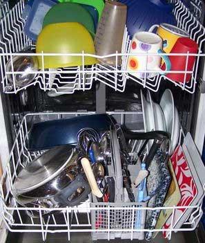 Un lave-vaisselle bien rangé