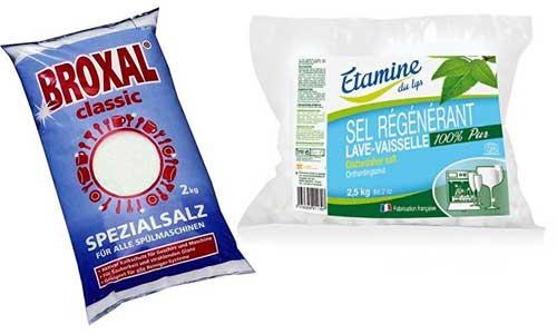 Du sel régénérant pour adoucir l'eau