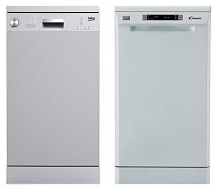 Lave-vaisselle de 45 cm : 9 et 10 couverts