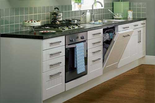 Une parfaite intégration du lave-vaisselle