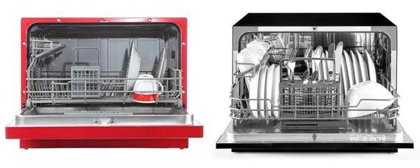 Rangement optimal de la vaisselle dans un mini lave-vaisselle
