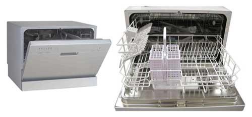 Un mini lave-vaisselle pour un petit espace