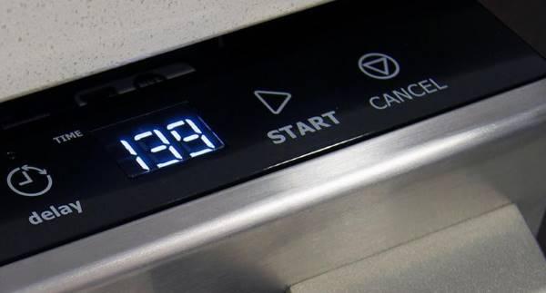 Départ différé du lave-vaisselle